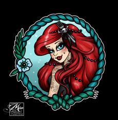 By Miss Cherry Martini Available in my RedBubble and TeePublic Stores. Also Available LImited Edition in my Etsy Store!  SOLD OUT
