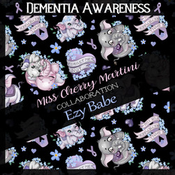 Dementia Awareness Collaboration with EzyBabe NZ to Fundraise for this tragic Illness.  EzyBabe NZ makes Eco Friendly Items! https://www.facebook.com/EzyBabeBabiesGoods  Designed By Miss Cherry Martini Also Available in my RedBubble and TeePublic Store! Support a Sick Girl, Or Boy! In this Case.  Dementia Awareness Collaboration with EzyBabe NZ to Fundraise for this tragic Illness.  EzyBabe NZ makes Eco Friendly Items! https://www.facebook.com/EzyBabeBabiesGoods  Designed By Miss Cherry Martini Also Available in my RedBubble and TeePublic Store! Support a Sick Girl, Or Boy! In this Case.