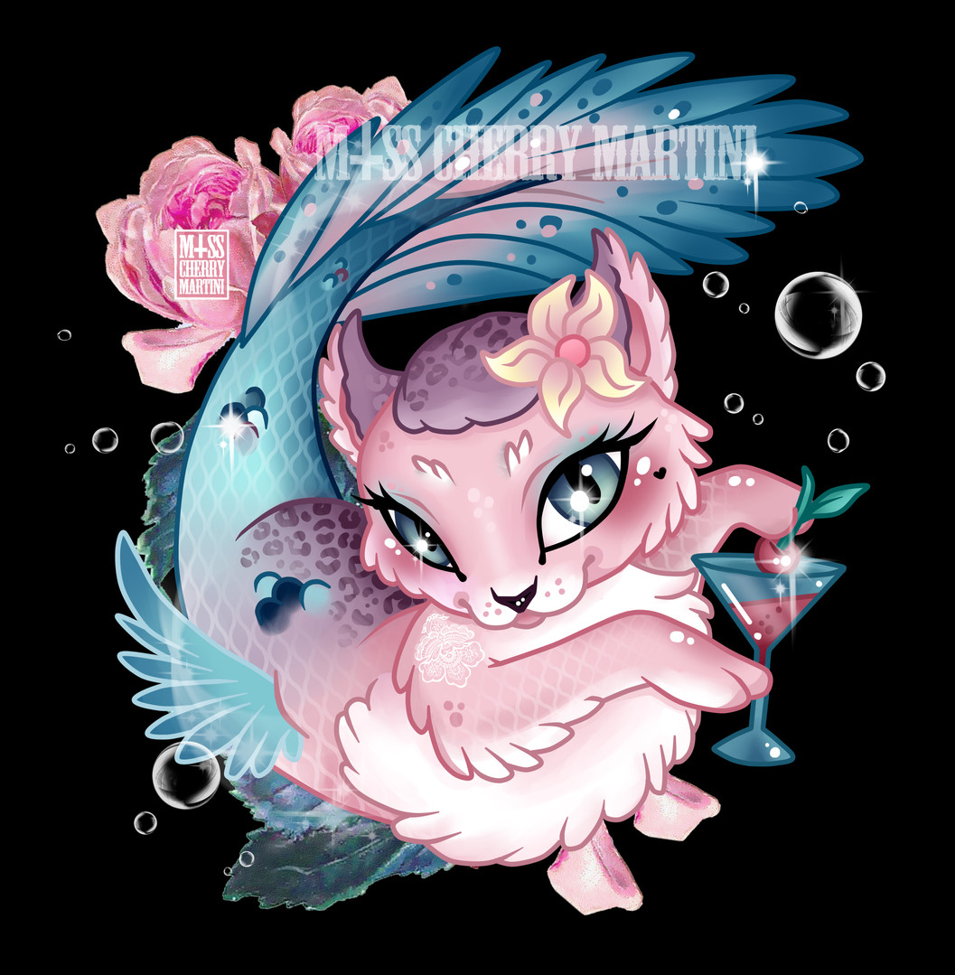 Pretty Little Purrmaid