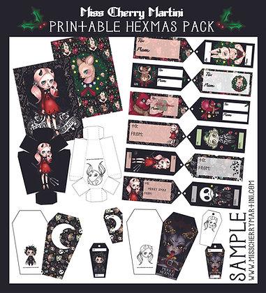 Printable Hexmas Pack