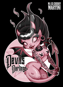 Devils Darlings Logo