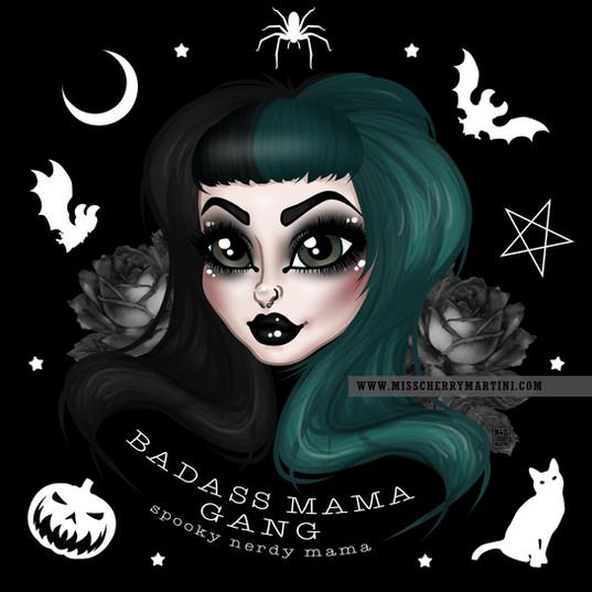 Spooky Nerdy Mama
