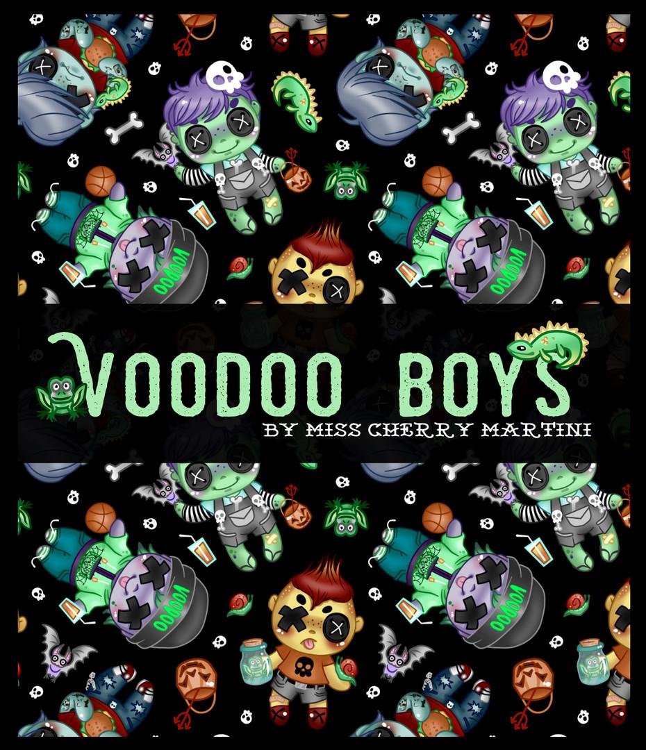 Voodoo Boys Pattern Piece