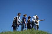 watch-grass-walking-mountain-group-peopl