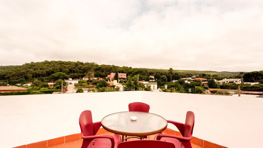 Terraza privada Suite