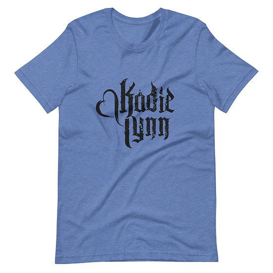 Kadie Lynn Black Logo Unisex T-Shirt
