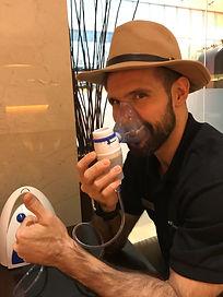 aerosol, fundación fernández cruz, asma, grupo fernandez cruz, aerosolterapia, facil, preparacion