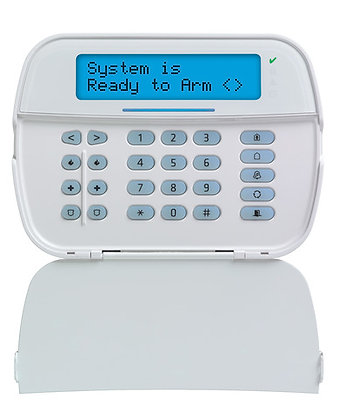 Full Message LCD Hardwired Security Keypad HS2LCD