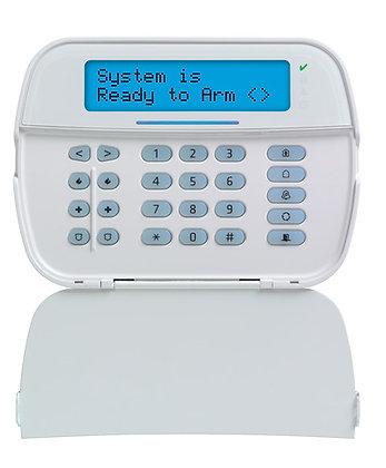 Wireless Full Message LCD PowerG 2-Way Keypad