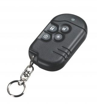 Wireless PowerG Security 4 Button Panic Key PG9939