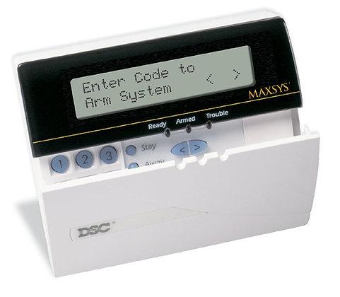 MAXSYS Programmable-Message LCD Keypad