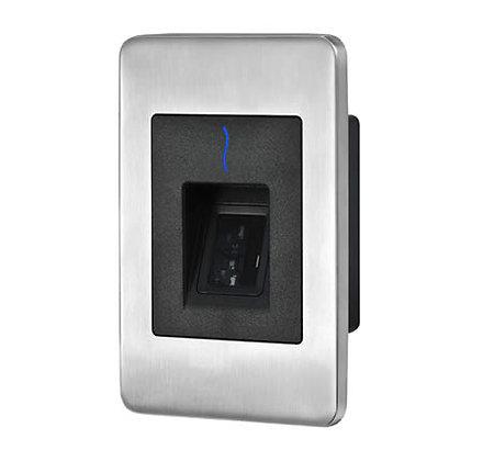 FR1400 flush-mount slave fingerprint and prox card reader