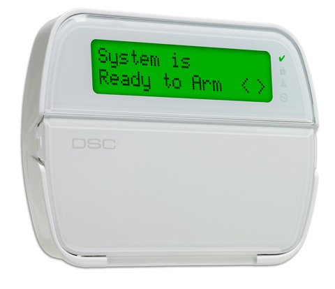 PowerSeries 64-Zone LCD Full-Message Keypad with B