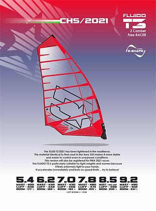 Challenger sails Fluido T3 2021