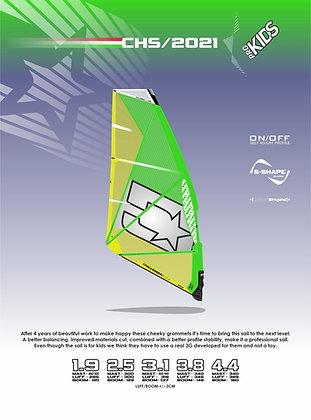 Challenger sails Pro Kids 2021