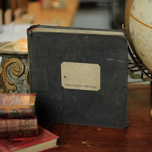 19世紀フランス書物(領主書の記録)