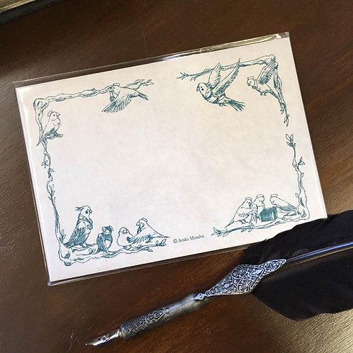 封筒「小鳥医院」