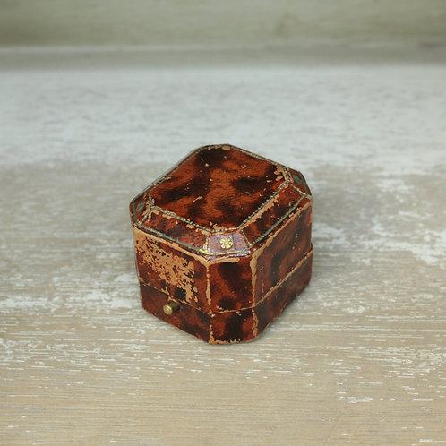 ダイヤカット型リングボックス