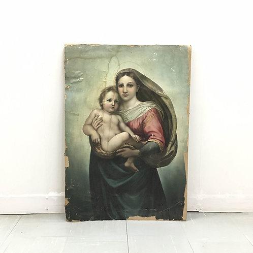19世紀 システィーナの聖母
