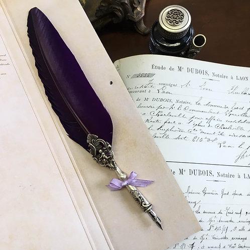 天使の羽ペン ヴァイオレット