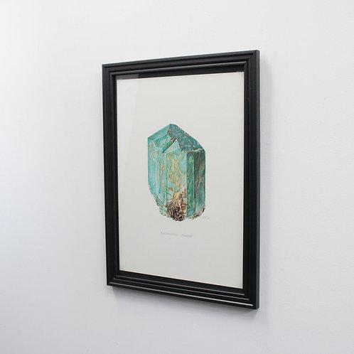 ドイツ鉱物画Amazonite