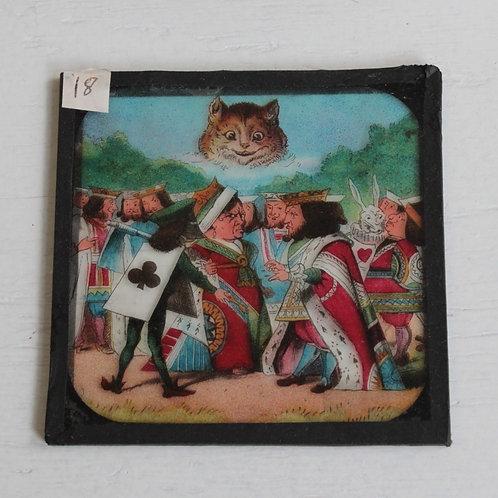 幻灯機スライド 不思議の国のアリス チェシャ猫