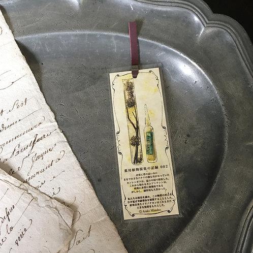 しおり 薬用植物採集の記録002
