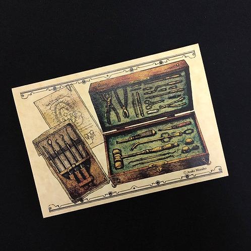 2ツ折カード「医療器具」