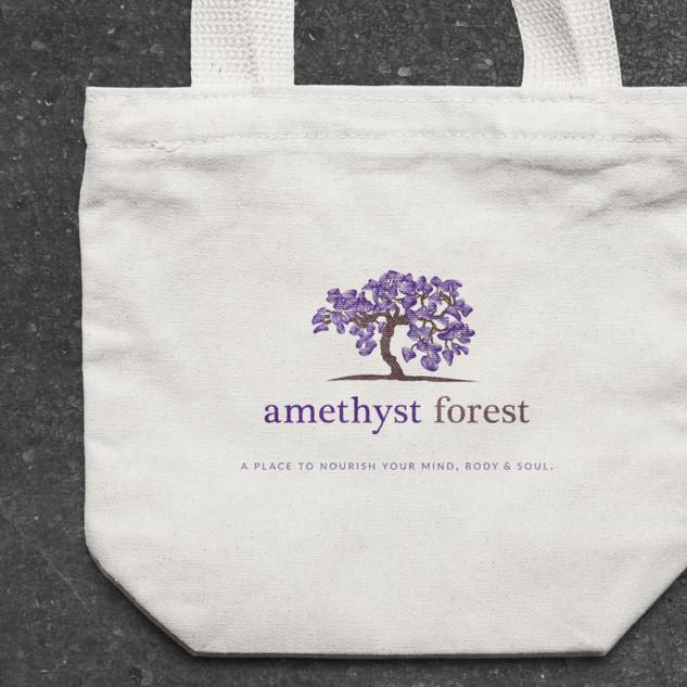 amethyst bag