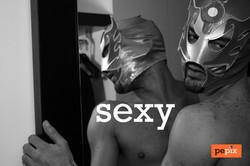 Indoor. Mask. sexy