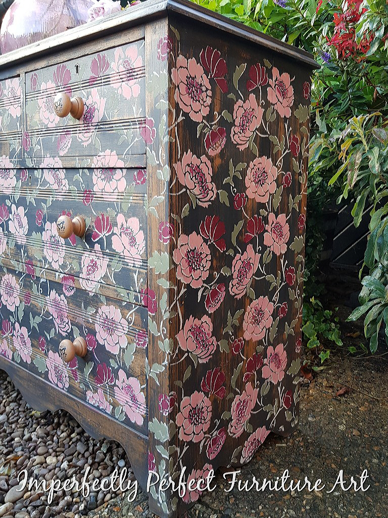 THE OH SO PRETTY PEONY DRAWERS