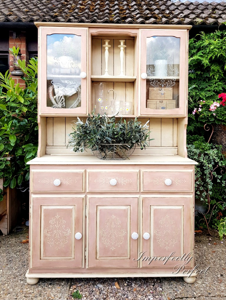 THE OH SO PINK DRESSER