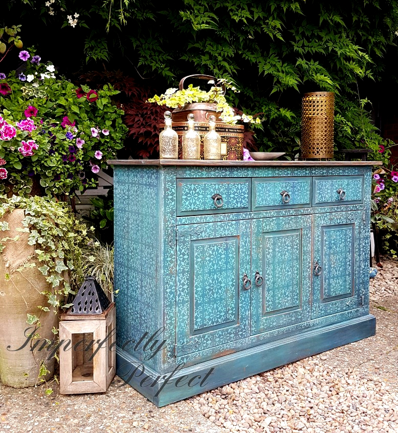 The Touch of Moroccan Sideboard