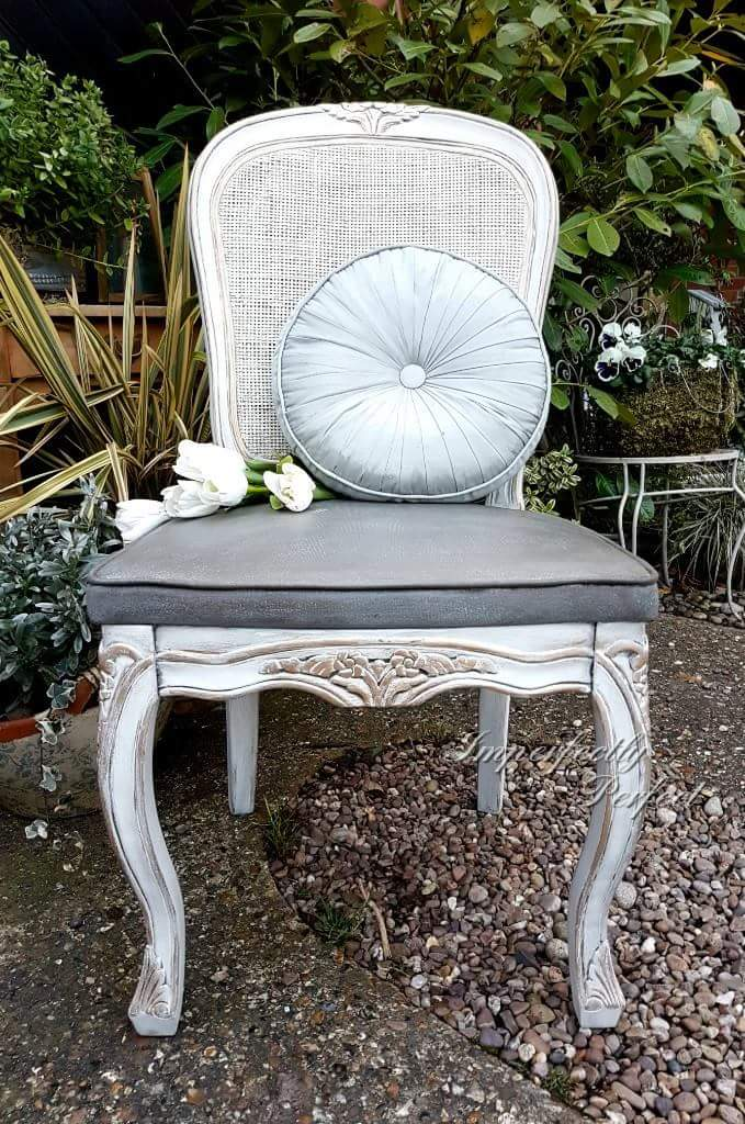 The French Fabric Waxed Chair