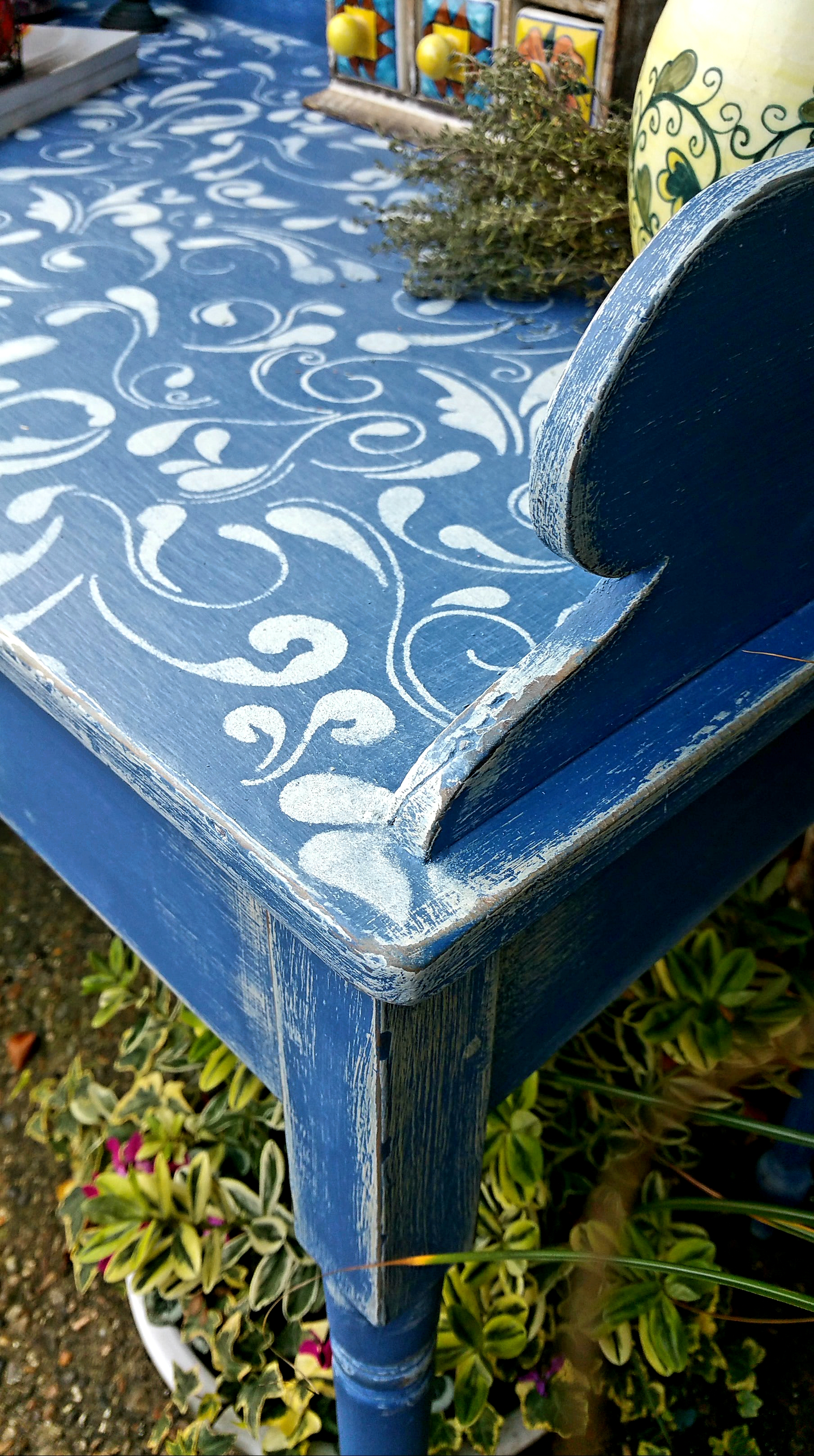 The Very Blue Washstand
