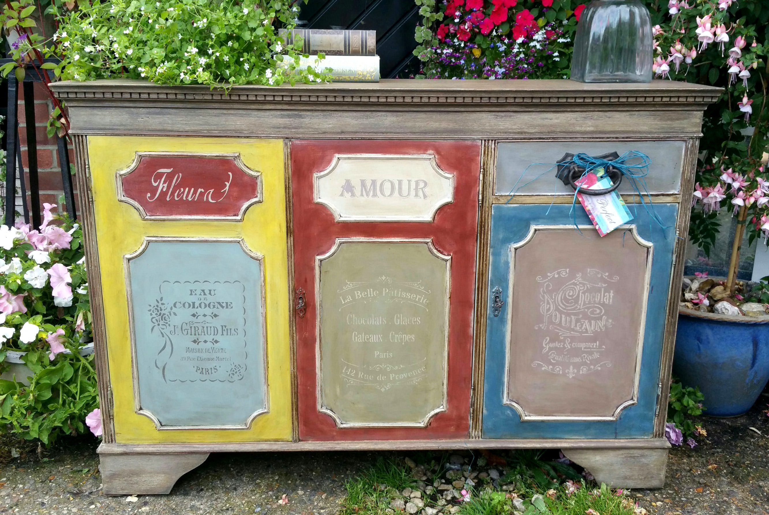 The Classic Coloured French Cupboard