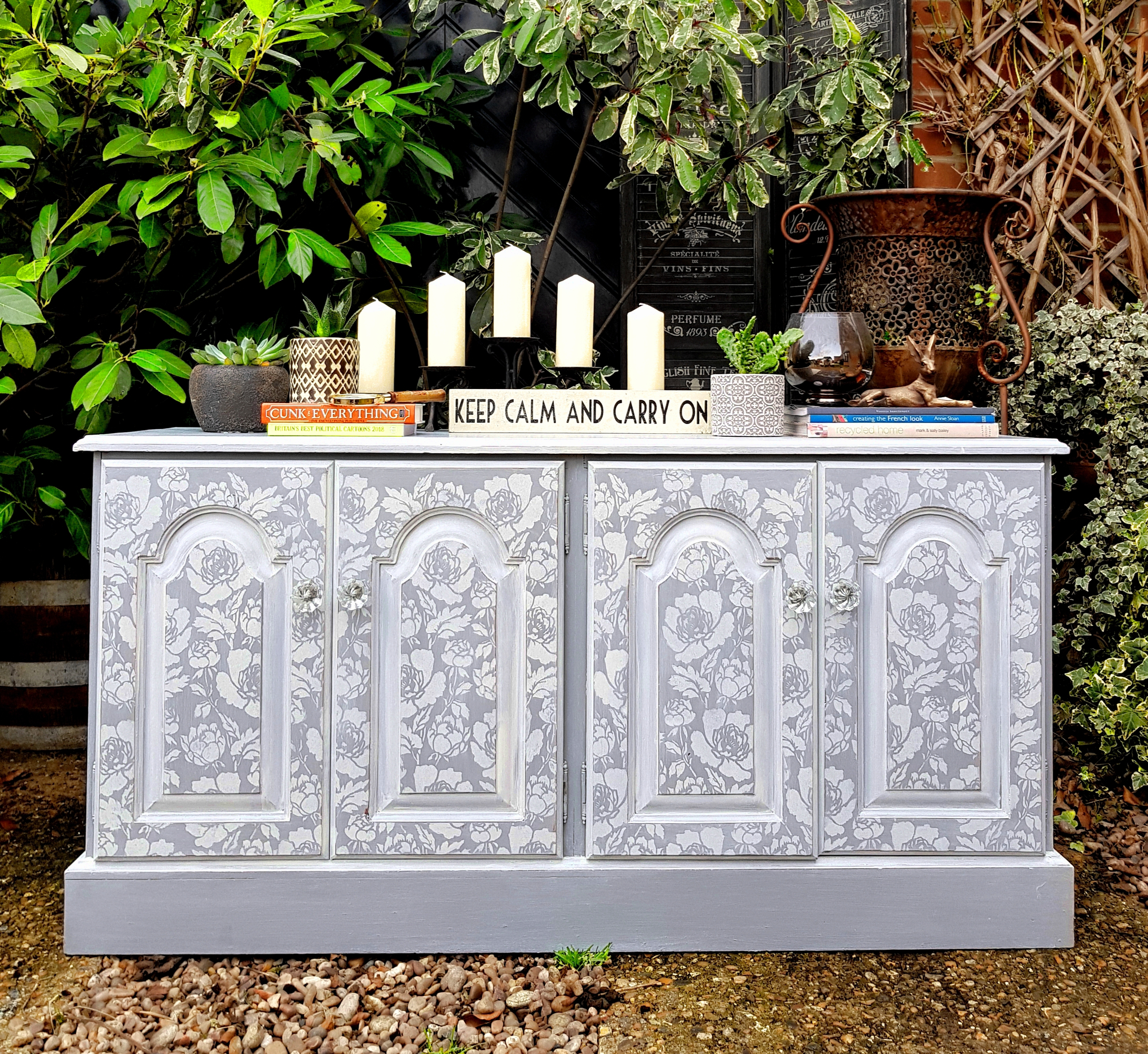 The Pretty Peony Sideboard