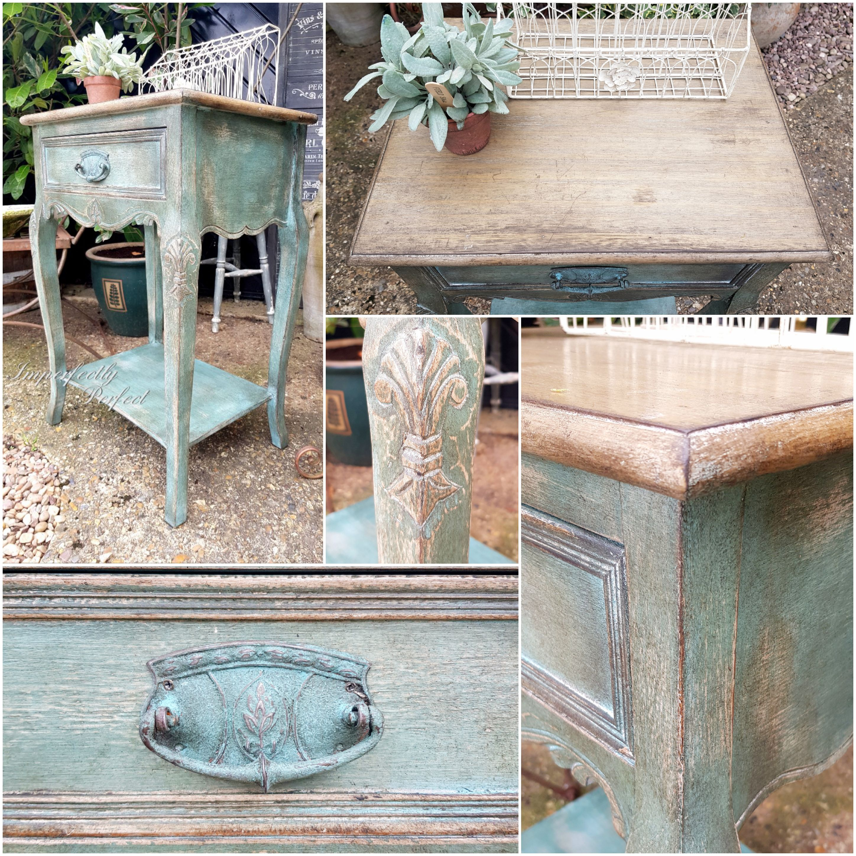 The French Patina Side Table