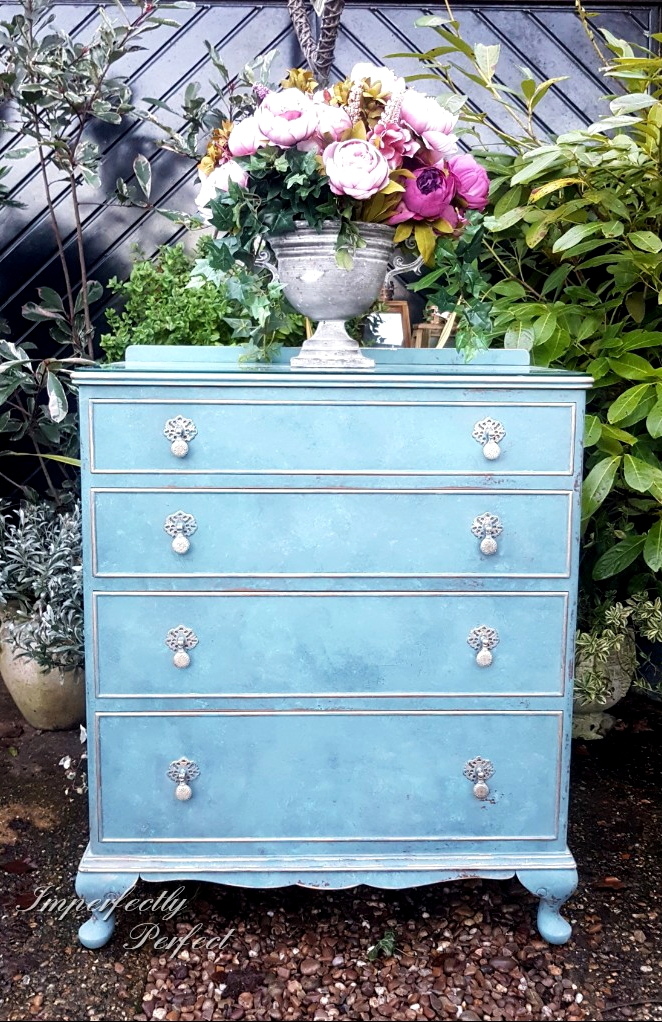 The Bright Blended Blues Drawers