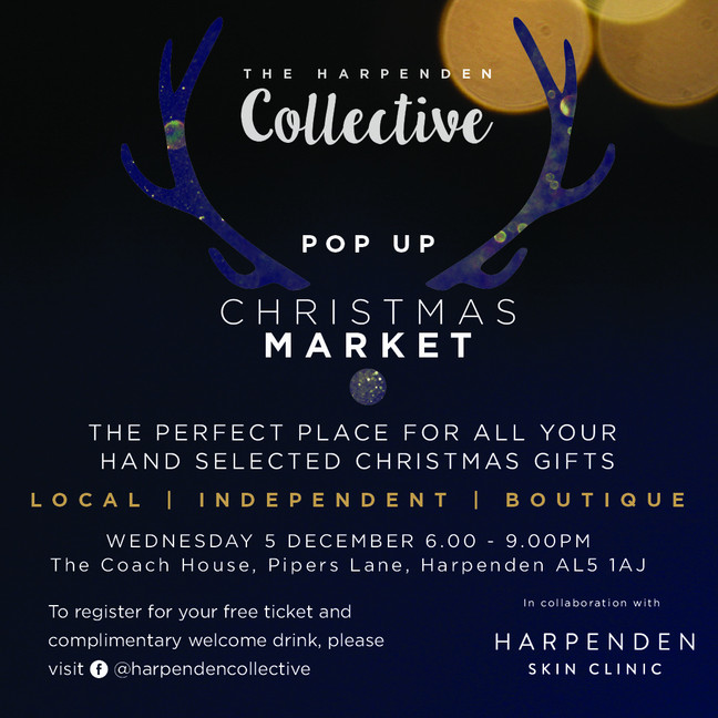 The Harpenden Collective Boutique Christmas Market Is Nearly Here!