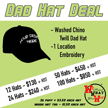 dad hat deal deals embroidery cap