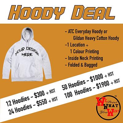 hoody deal printing print hoodie deals