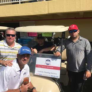GCS sponsors the First-Responders Team at the Galveston Chamber of Commerce Annual Golf Tournamnet