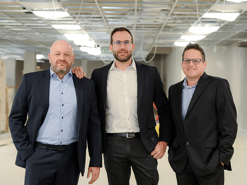 Perlov & Associates Partners | Alon Perlov, Gareth Stonefield & Darren Mervis. (left to right)