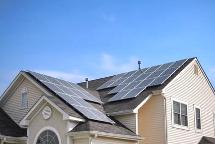 Soalr Panels on roof