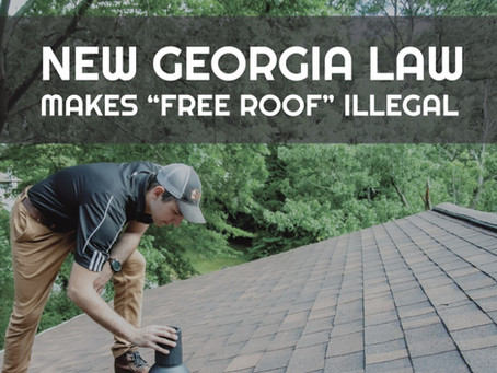 "A ""Free Roof"". Is it Illegal?"