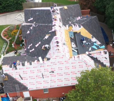 Roof install Cartersville