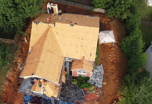 Acworht Roofing Company Mid Install
