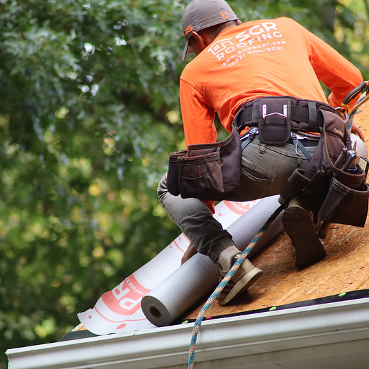Installing Synthetic Underlayment