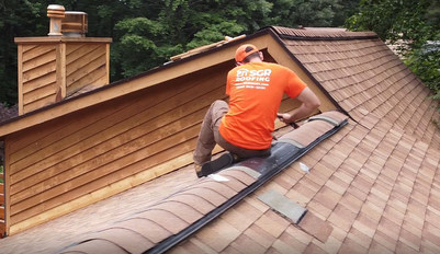 Install Hip and Ridge on New Roof